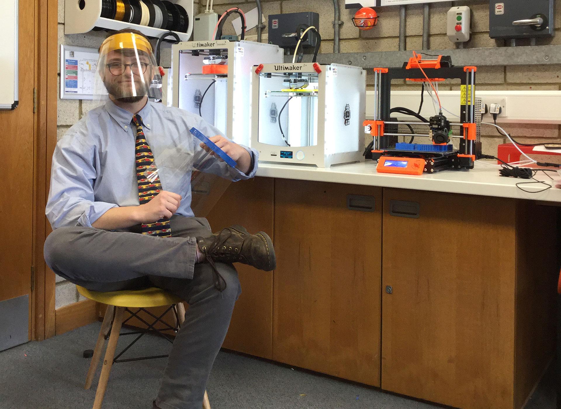 Coronavirus case studies: How Whitgift School is manufacturing hospital visors