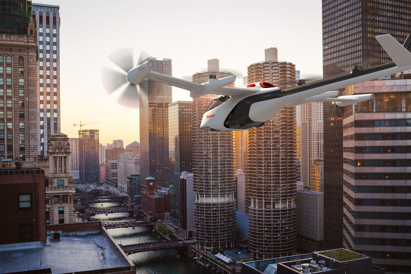 """Urban air mobility: How """"a whole new form of flight"""" will shape the cities of the future"""