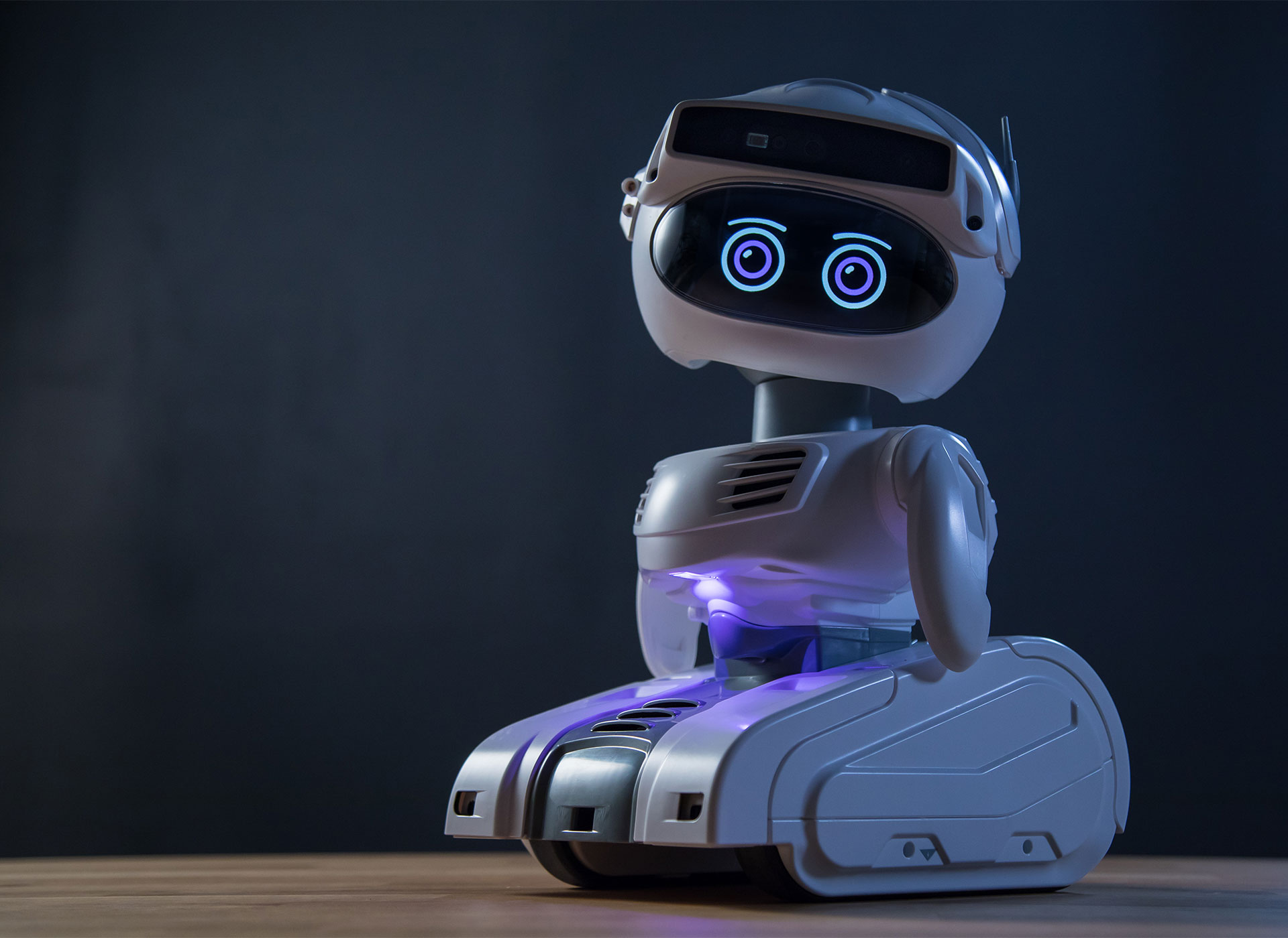 Temperature screening robot to support reopening offices