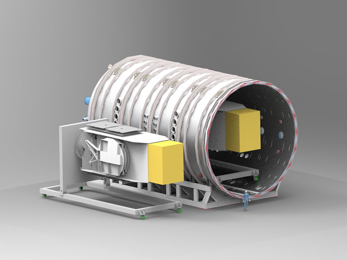 Large Space Test Chamber to test satellites in UK