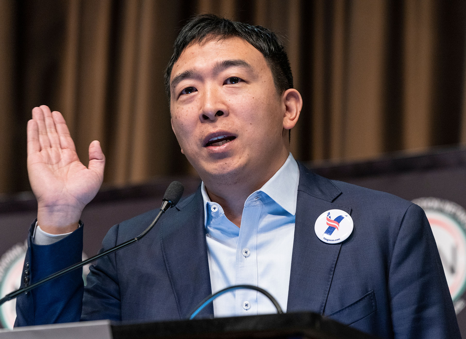 "Andrew Yang: ""We are experiencing 10 years of change in 10 weeks"""