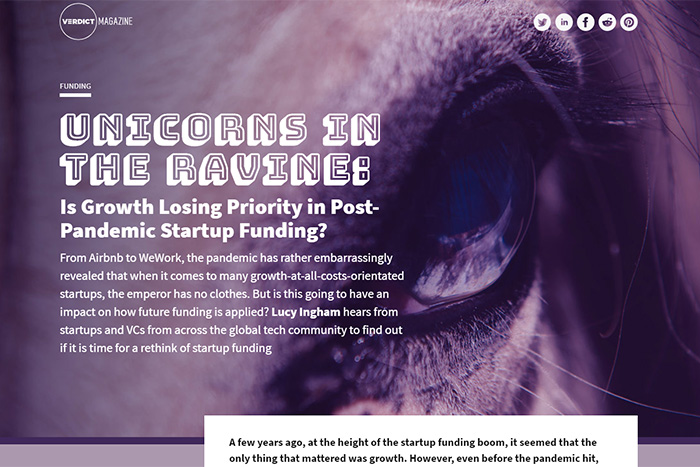 verdict magazine issue 4: startup funding