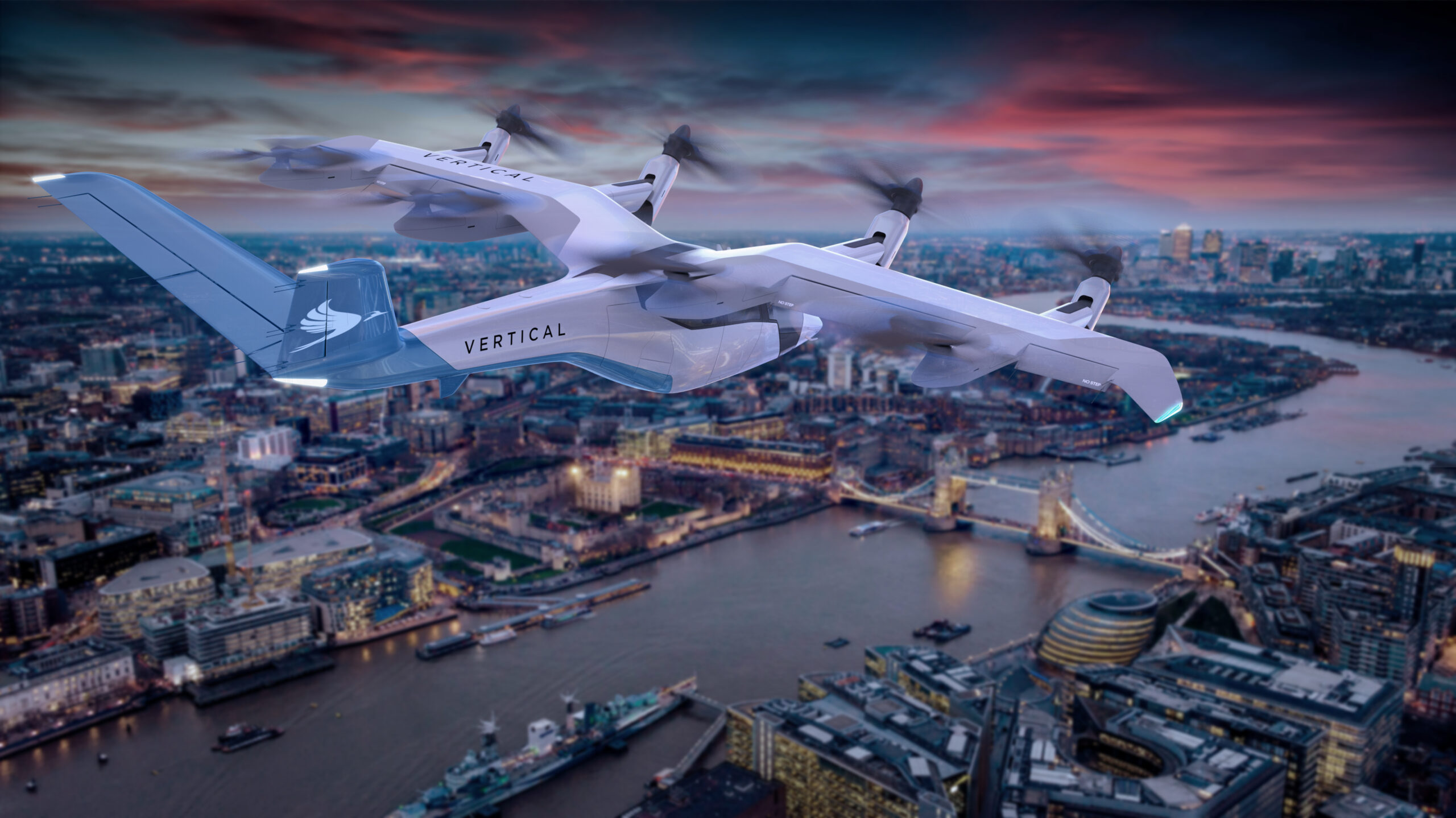 Vertical Aerospace unveils flying taxi design