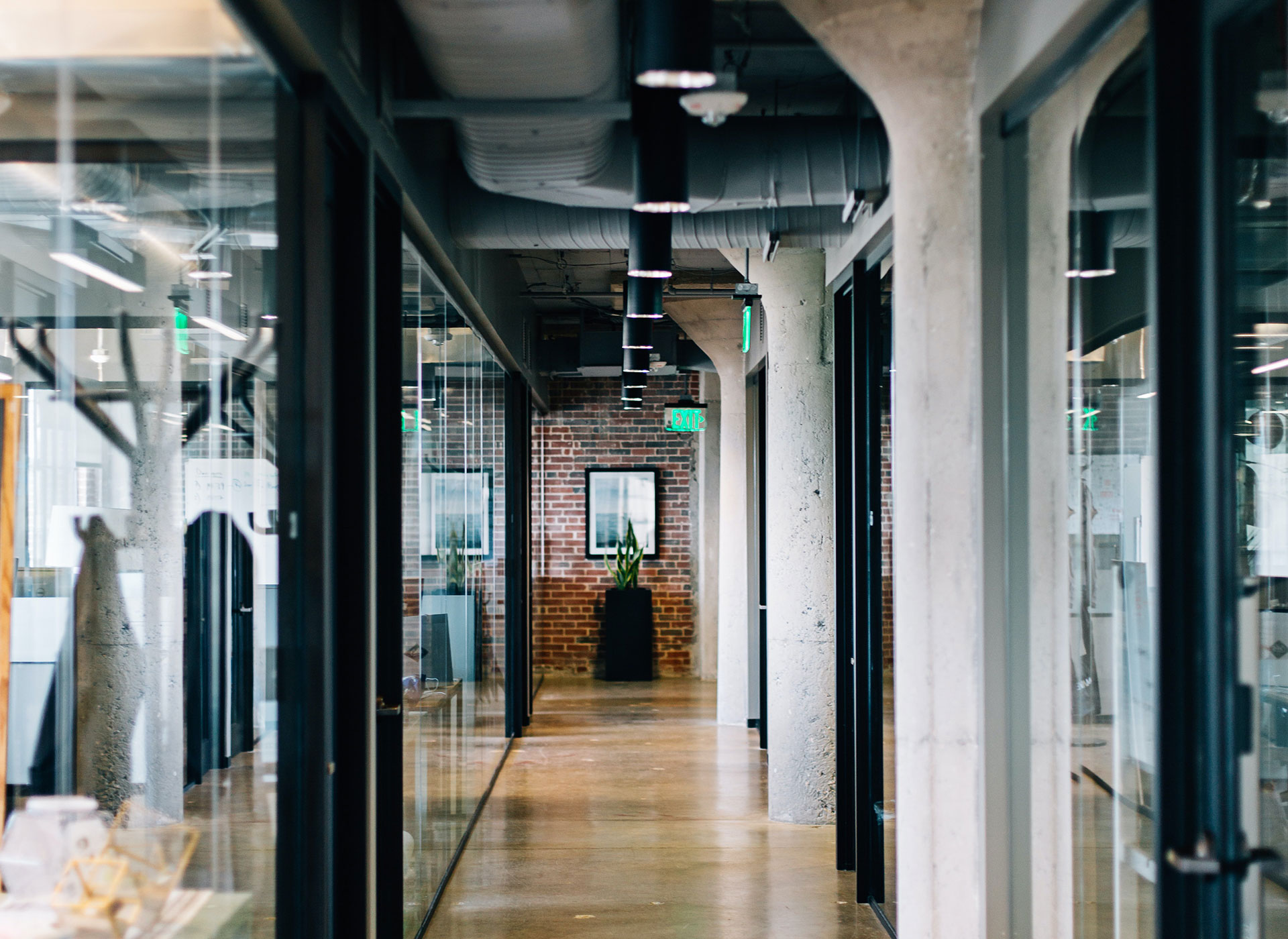 Virtual doors: Smart building technology to make the office hands-free