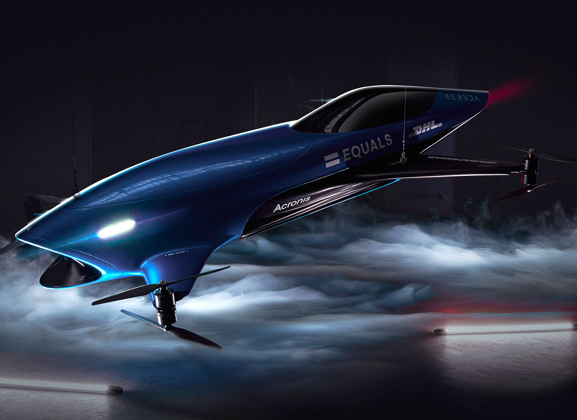 Flying car racing series Airspeeder partners with Acronis