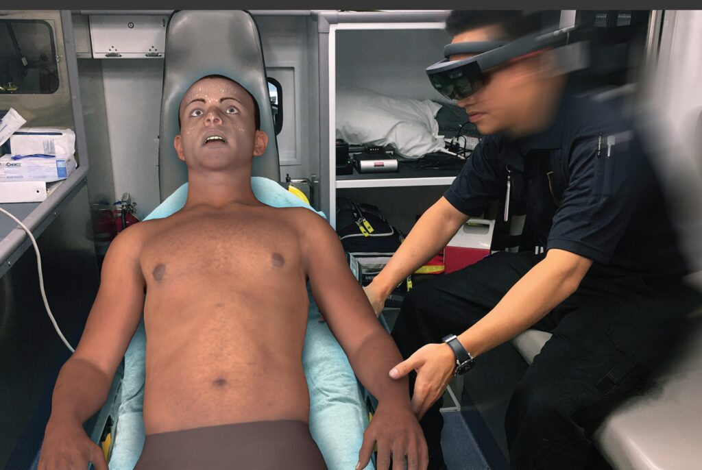 MedCognition: How AR goggles are training first responders