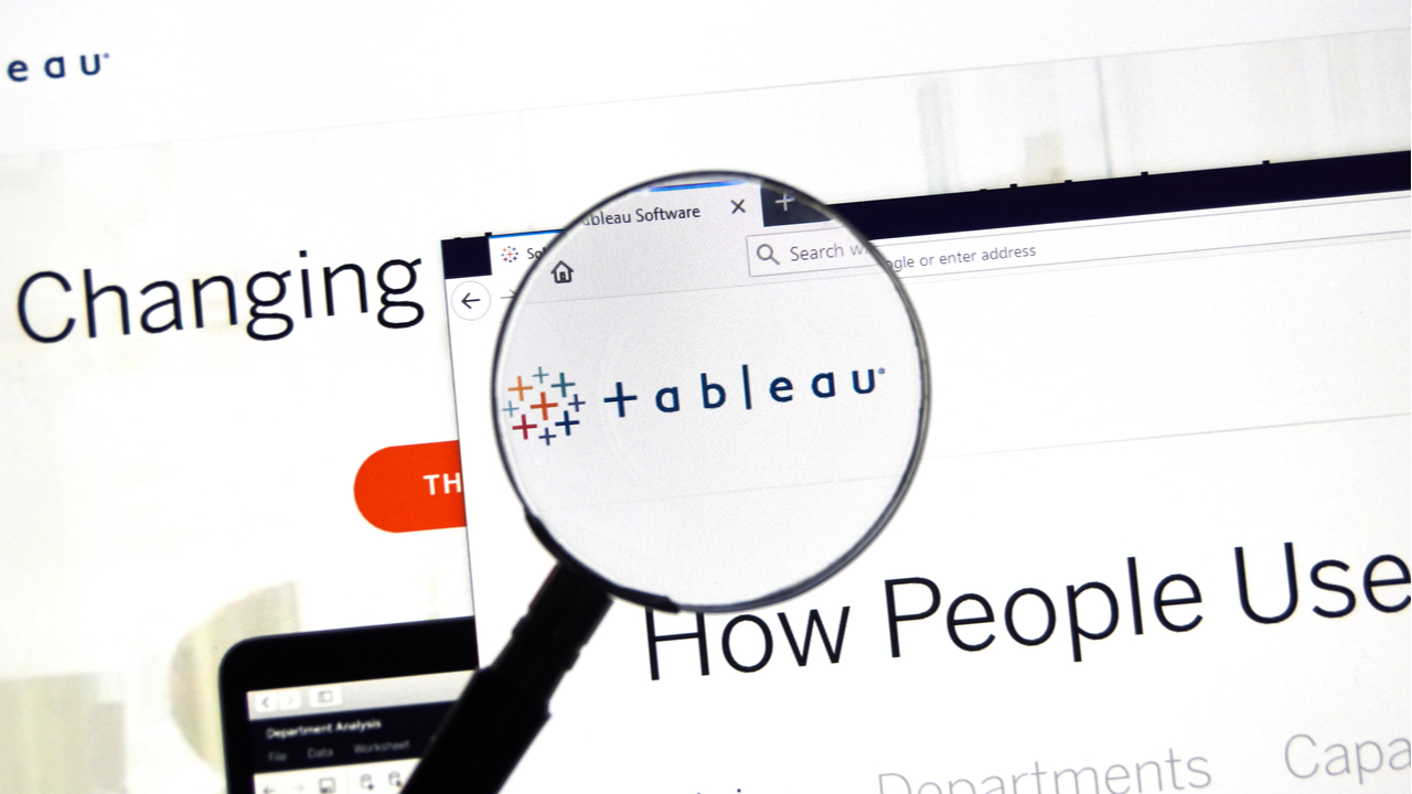 Encouraging news as Tableau opens a new chapter