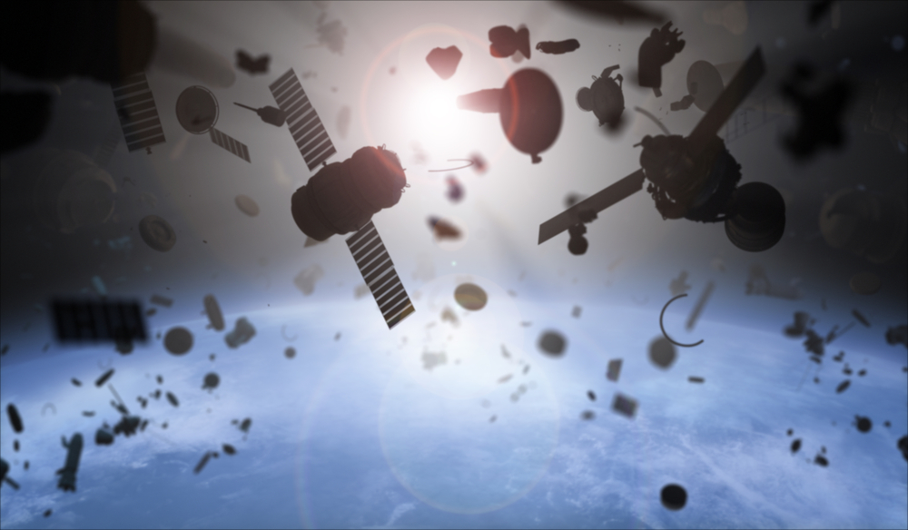 "Volume of space debris orbiting the Earth is ""growing steadily"""