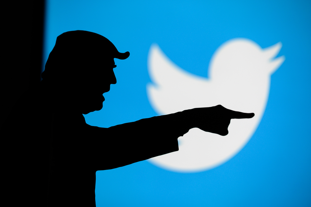 Twitter and Facebook flag Trump's baseless election claims