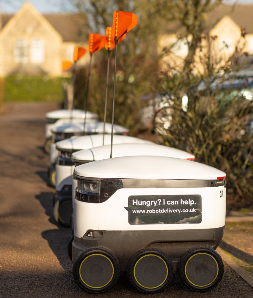 Starship Technologies delivery robots launch in Northampton