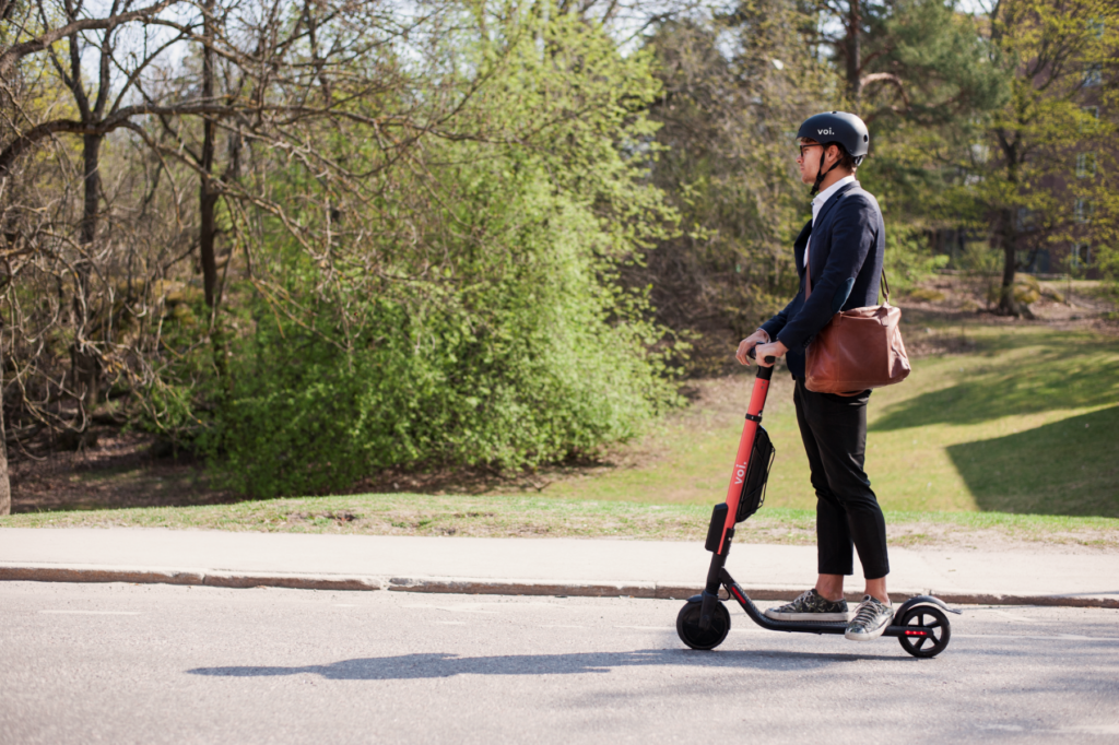 Voi is testing wireless e-scooter charging with an Imperial College spin-out