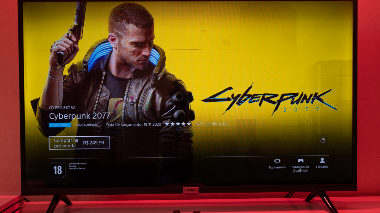 Shares at CD Projekt Red tumble as Sony offers refund