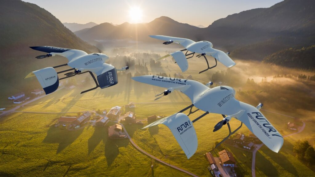 Drone startup Wingcopter secures $22m in Series A funding