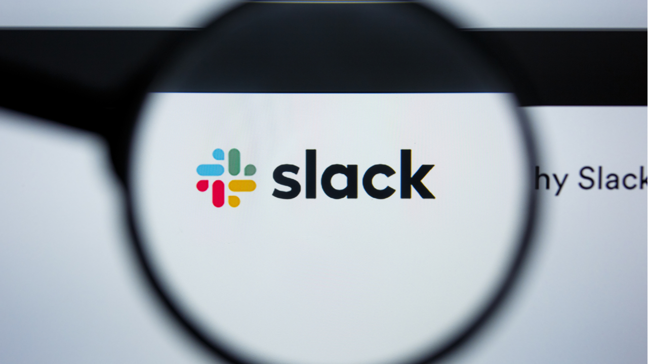 Slack is down on the first full workday of 2021