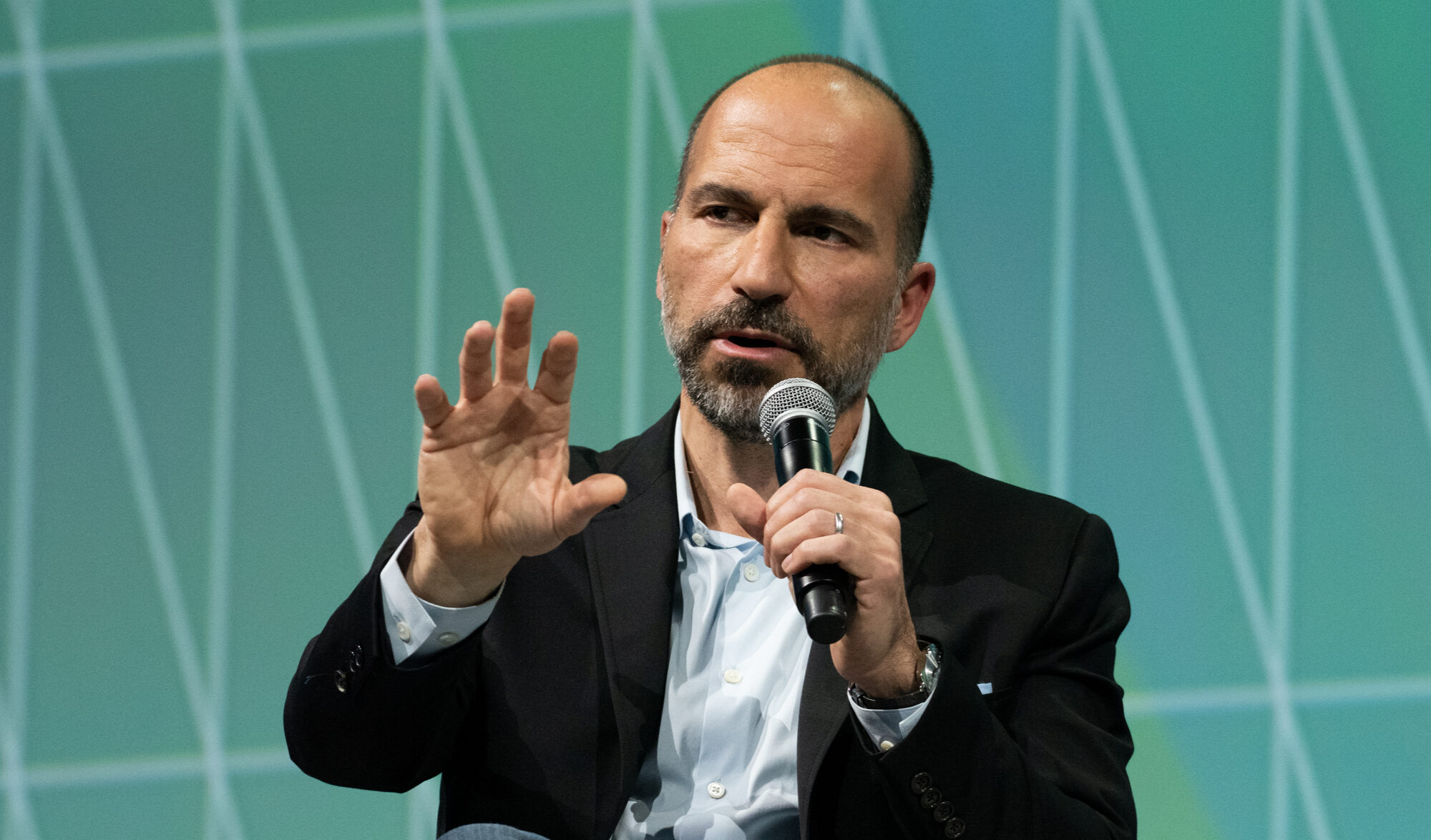 Uber will consider accepting bitcoin, says CEO Dara Khosrowshahi