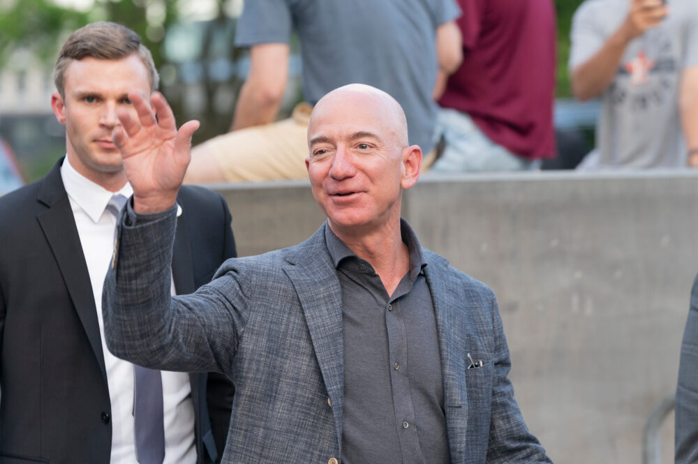 What will Jeff Bezos do after stepping down as Amazon CEO?