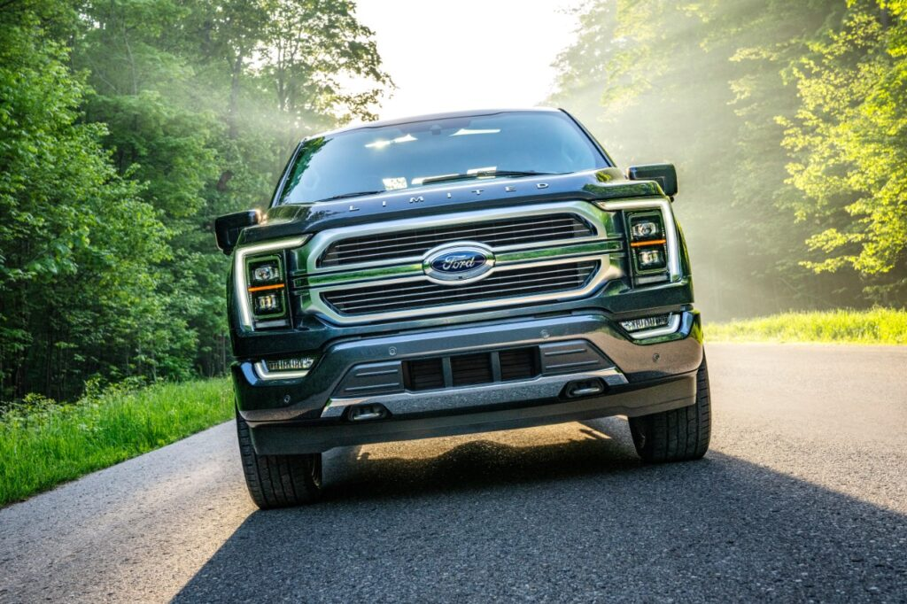 Ford's focus is to build F-150 trucks despite missing chips