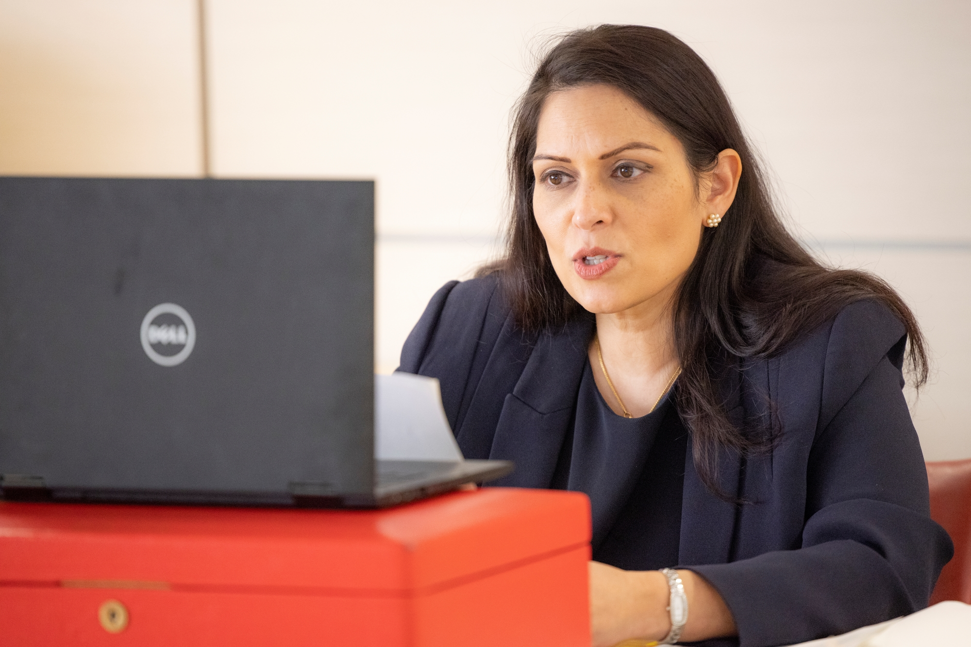 Don't pay out to ransomware gangs, says UK Home Secretary Priti Patel