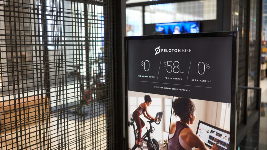 Peloton to build first US factory in response to pandemic boom