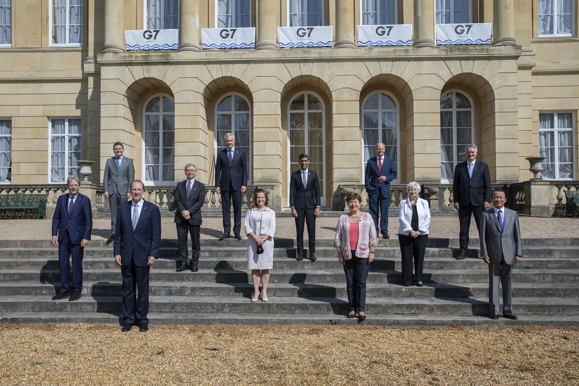 Big Tech stock falls after G7 tax deal could stop them dodging public bills