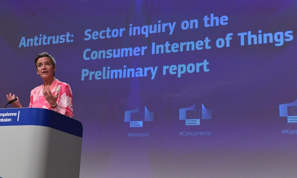 Tech giants are harming IoT competition, says EU