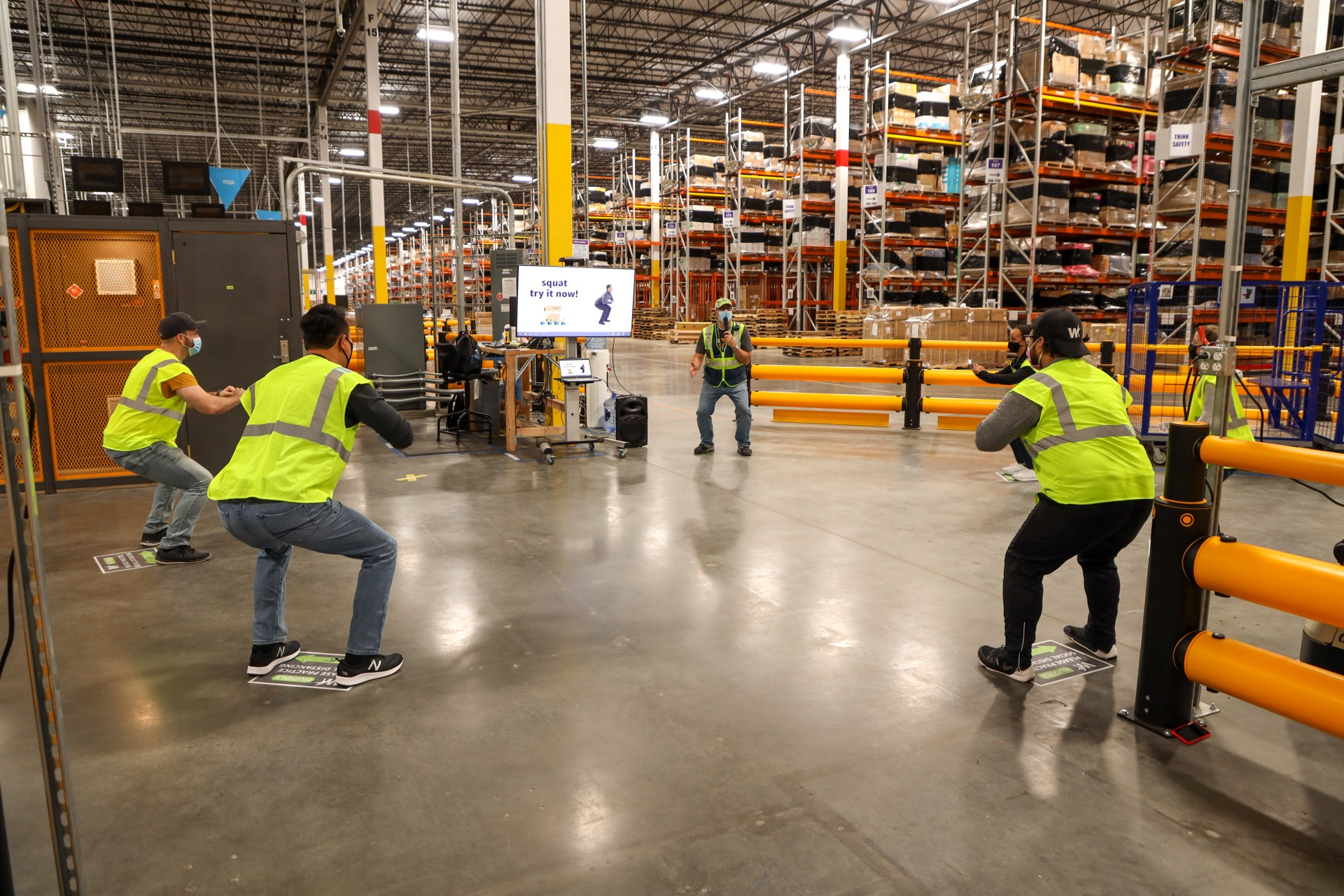 Leaked document: Amazon warehouse work is like being a galley slave