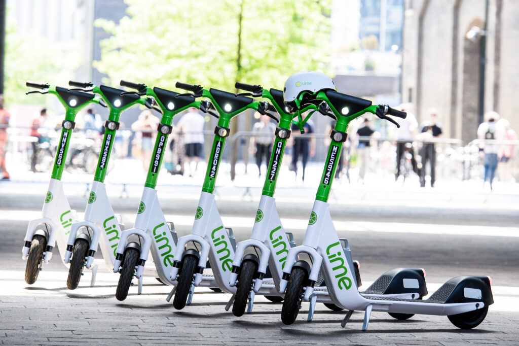 E-scooters flush with $1.5bn in VC cash roll onto streets of London