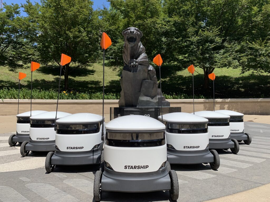 My robot legion will dethrone Deliveroo, says 'Starship' CEO