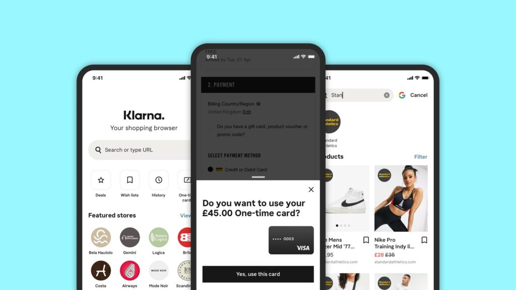 Klarna denies copying Shopping app features from Zilch