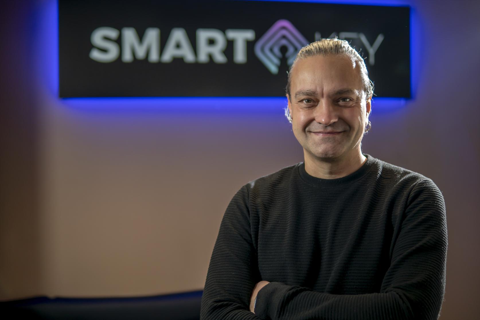 Szymon Fiedorowicz, CEO and co-founder of SmartKey