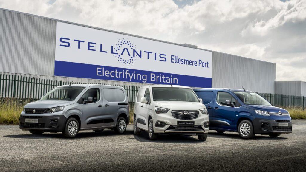 Stellantis' Ellesmere Port to build electric vans