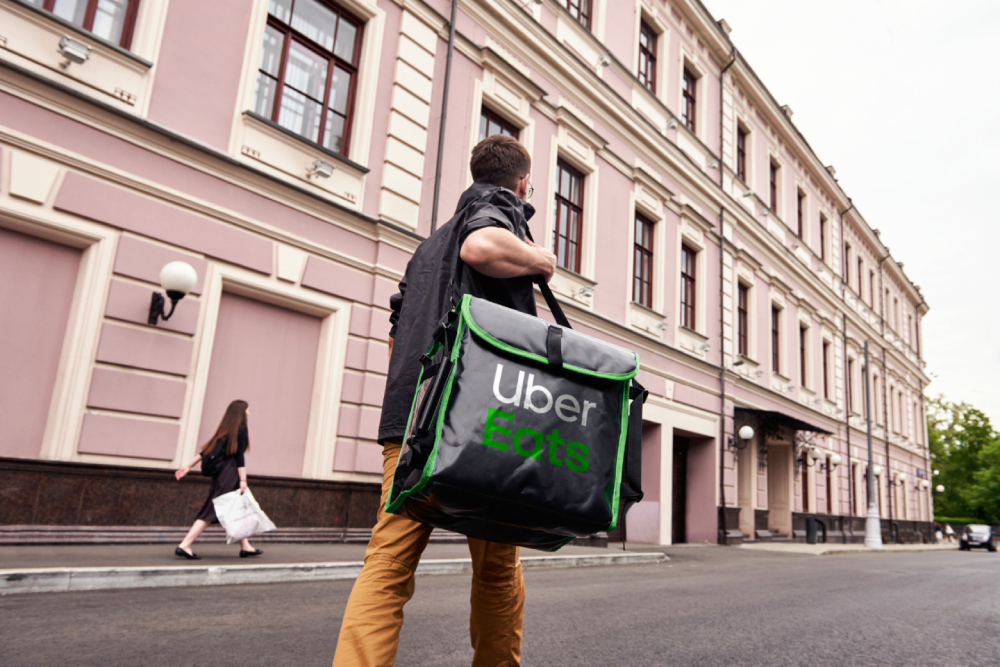 An Uber Eats experiment paves a new path for gigworkers