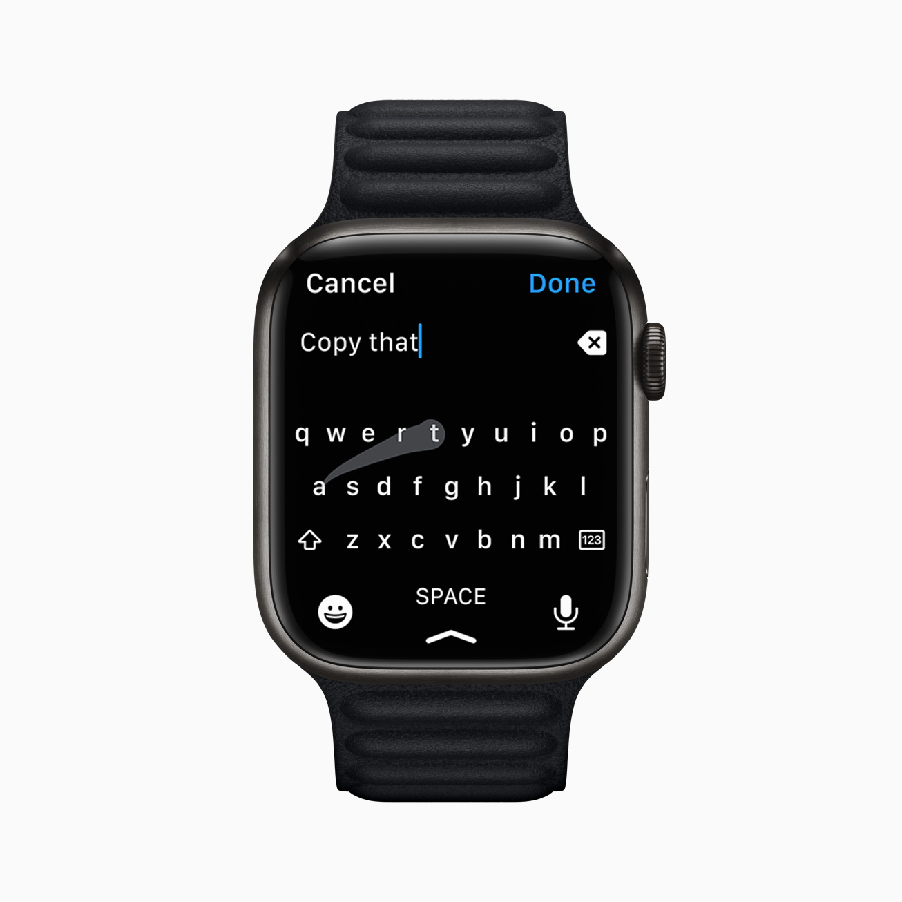 """""""Copy that"""": Developer to sue over Apple Watch keyboard resembling his rejected app"""