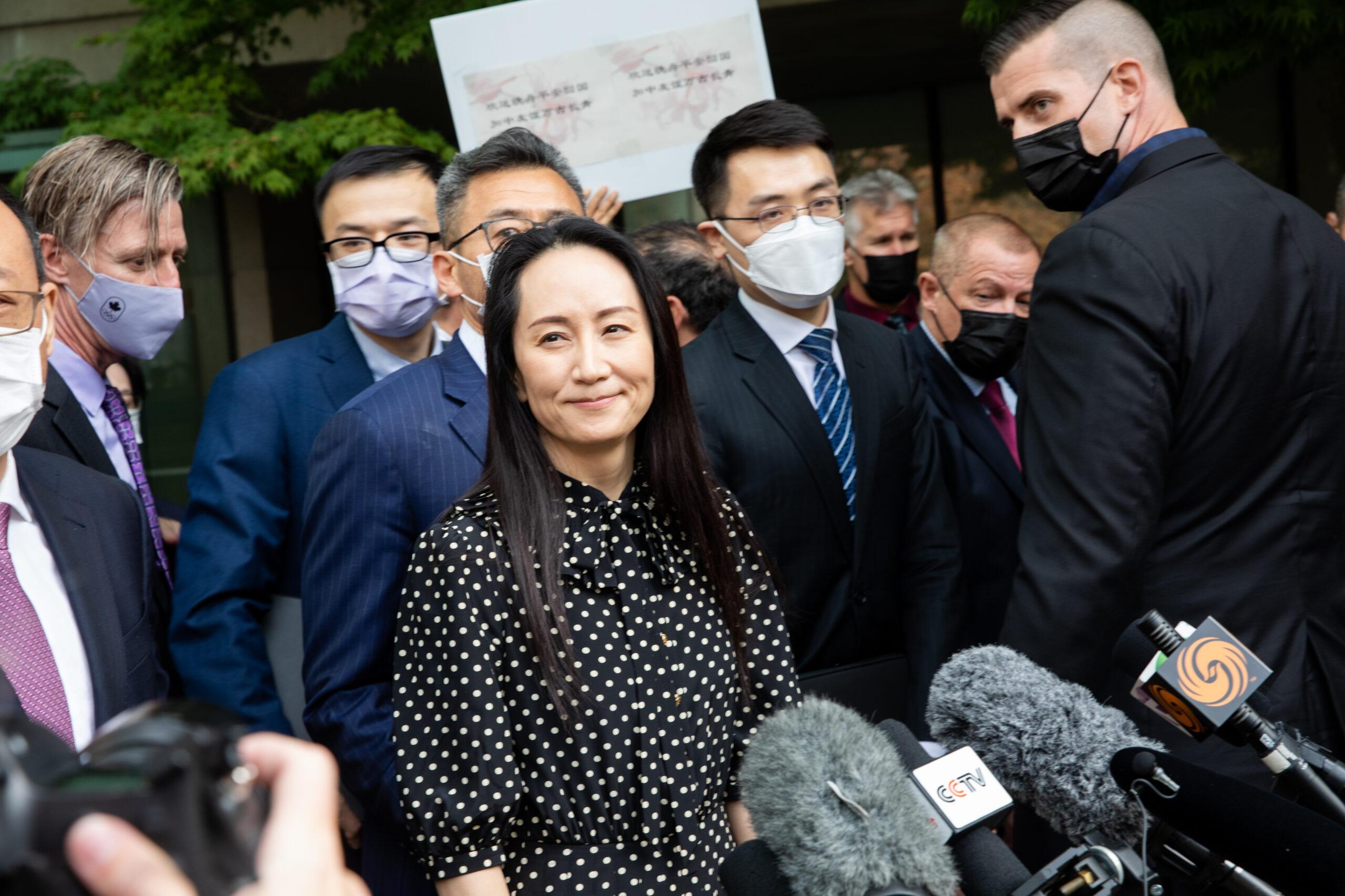 Dragon rescues princess: Canada releases Huawei CFO