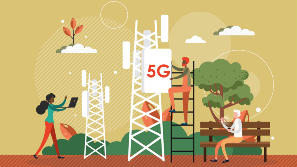 Improving 5G through mid-band spectrum and M-MIMO